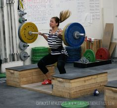 How to bring the bar into the hips and properly time the jump for more explosive snatches and cleans in Olympic weightlifting