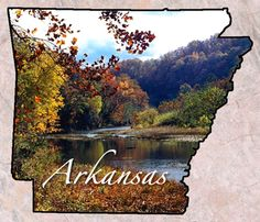 Arkansas. I travelled there for my cousin's wedding in summer 2010 and fell in love with the scenery. Though I didn't fall in love with the bugs.
