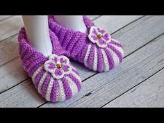 5debcb47017 (17) Пинетки зефирки крючком | Пинетки крючком на 1 год - YouTube Crochet  Baby