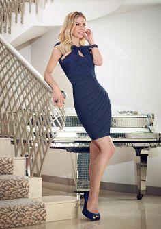 Mori Lee VM 70734 Dress/Stole. Colors Available: Navy, Black. Sizes Available: 2-26. #timelesstreasure