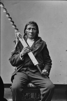 Oshoga in Washington, D.C. - Ojibwa - 1874
