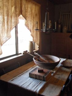 candl chandeli, farmhouse kitchens, farmhous kitchen, simpl curtain