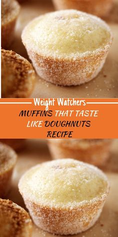 What you need: cup sugar 1 large egg 1 cups all-purpose flour 2 tsp baking power tsp salt tsp ground nutmeg cup vegetable oil cup milk 1 tsp vanilla extract 2 Tbsp butter, melted cup sugar, for rolling (I Weight Watchers Muffins, Weight Watchers Breakfast, Weight Watchers Diet, Weight Watchers Desserts, Weight Watchers Cupcakes, Donut Recipes, Ww Recipes, Ww Desserts, Dessert Recipes