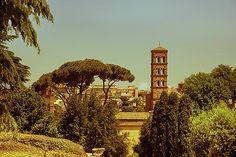 Views Of Rome. Santa Francesca Romana by Yana Reint #yanareint #yanareintphotography #ArtForHome #FineArtPrints  #HomeDeco