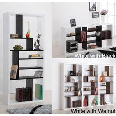 Furniture of America Bart Multi-tiered Modern Display Bookshelf | Overstock.com Shopping - The Best Deals on Media/Bookshelves