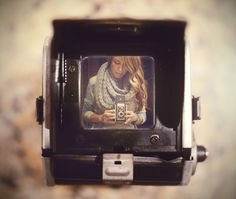love this version of a self-portrait!