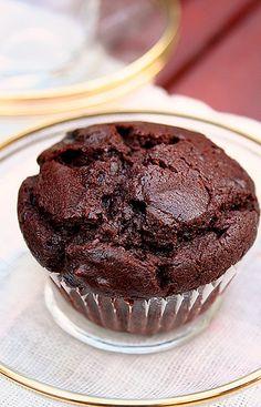 Chocolate Custard Muffin by Le Petrin, via Flickr