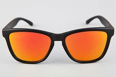Hadar Mate Black - Orange Polarized