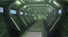 Sci Fi Hallway                                                                                                                                                                                 More