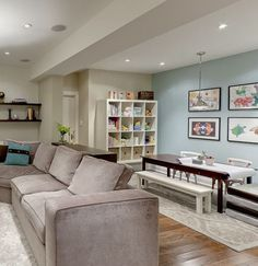 Basement paint colour, unfinished basement, basement remodeling ideas, basement decor