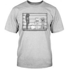Minecraft Line up t-shirt