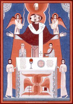 St John Chrysostom contemporary icon 2015-2016, by Nikola Saric