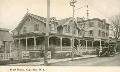 old cape may photos | 1920. The Windsor Hotel was popular through the 1960s, but, instead ...