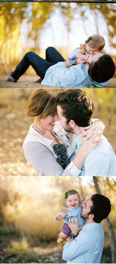 Cute family photos with baby
