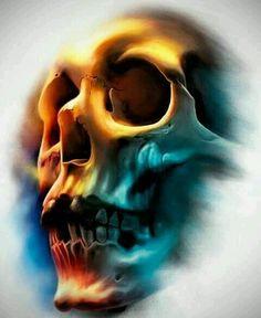 New Ideas tattoo designs skull deviantart Skull Tattoo Design, Skull Design, Skull Tattoos, Body Art Tattoos, Sleeve Tattoos, Tattoo Designs, Tattoo Crane, Images Terrifiantes, Skull Reference
