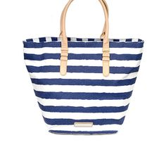 Little Black Bag | Karlie City Slicker Striped Tote by BCBGeneration