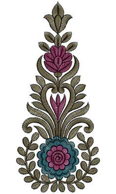 Heavy Kali Embroidery Design 13737