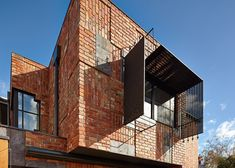 Bricks, doors and roof tiles recycled by Phooey Architects for Melbourne house extension.