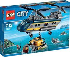LEGO City Diepzee Helikopter - 60093