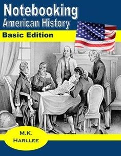 Over 50 American History Notebook pages for Grade 3-12. FREE homeschool resources are always the best.