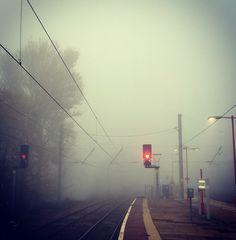 Fog Lancaster Station
