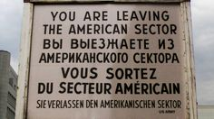Checkpoint Charlie was one of the symbols of the Cold War, separating the Allied controlled West Berlin from the Russian controlled East. Checkpoint Charlie, East Germany, Berlin Germany, Berlin Things To Do In, Berlin Wall, Cold War, Germany Travel, Places Ive Been, Trip Advisor