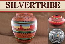 A stunning piece of hand crafted pottery from www.SilverTribe.com will add the perfect finishing touch to your home!