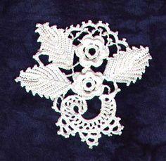 inspiration from Irish crochet