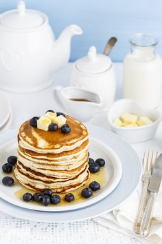 Make this super soft, Fluffy American Pancakes for your family and bet you will get more cuddles & kisses for this.