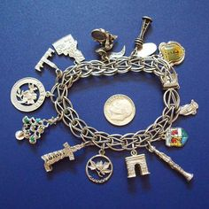 Each charm represents somewhere I've been.