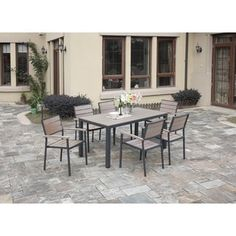 Shop For Sornas 7 Piece Patio Dining Set Get Free Delivery At Overstock