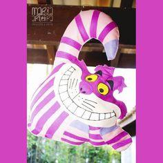 Cheshire!!...Gato Alice em feltro