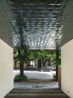 Viale Italia - Wohnungen von in Brescia Entrance, Pergola, Tiles, Outdoor Structures, Urban, Landscape, Gallery, Photography, Color