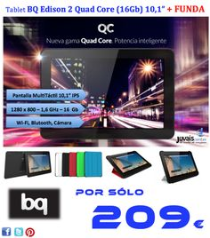 ...ES UN BUEN REGALO, SE LO MERECE http://www.juvaiscenter.com/es/tablets/290-tablet-bq-edison-2-quad-core-16gb-101-8436545511275.html