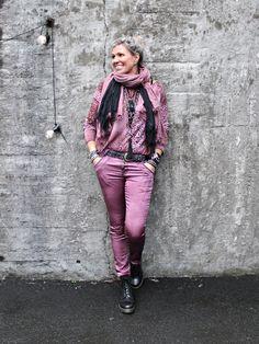 Style Inspo by Bohem Harajuku, Leather Pants, November, Bomber Jacket, Jackets, Fashion, Leather Jogger Pants, November Born, Down Jackets