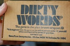 Dirty Words