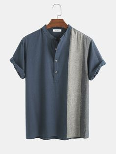 Formal Men Outfit, Casual Outfits, Men Casual, Casual Pants, Best Casual Shirts, Mens Vintage Shirts, Chemise Fashion, Cotton Shirts For Men, Men Shirts