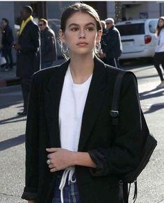 m File #KaiaGerber #streetstyle #fashion #style