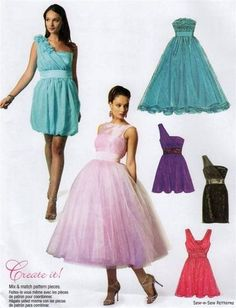 Sewing Patterns Bridesmaid Dresses