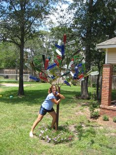 Metal Bottle Trees for Sale | my mom s tree is about 10 feet tall and holds 60 bottles she