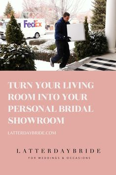 Bring LatterDayBride to your living room with our Try Before You Buy program! Wedding Dress Shopping, Online Dress Shopping, Lds Bride, Modest Bridesmaid Dresses, Bride Look, On Your Wedding Day, Death, Weddings, Bridal