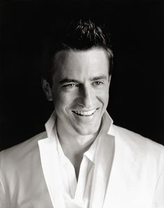 Dermot Mulroney....I don't care how old he is, he's a good looking guy! Plus I love the sound of his voice;)