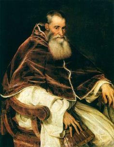 Вечеллио Тициан. Папа Павел III