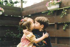 #children #kiss #love #couple