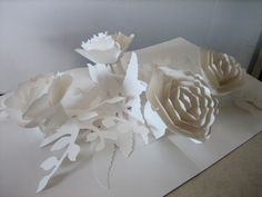 Paper Blossoms by Ray Marshall. This site is worth another look as there are a verity of interesting looking resources.
