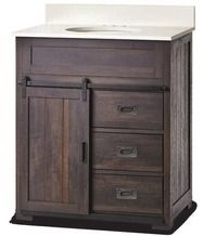 Style Selections Morriston Distressed Java 30 In