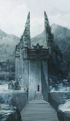 The Frozen Castle, by Lee Dongick.