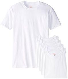 Hubby's gift list  Hanes Men's Big 5-Pack Crew T-Shirt, White, 3X-Large Hanes $13.50 - $32.25