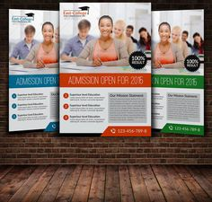Education Flyer Template by Leza on Creative Market