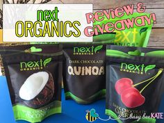 Busy Bee Kate | next ORGANICS - Review & Giveaway!